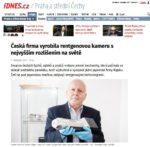 Článek - Česká firma vyrobila rentgenovou kameru s nejvyšším rozlišením na světě