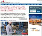 Článek - Březnická firma vyrábí hlavně tesařské kování pro dřevostavby. Ročně investuje milion do certifikace
