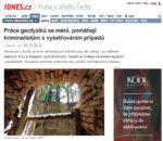 Článek - Práce geofyziků se mění, pomáhají kriminalistům s vyšetřováním případů