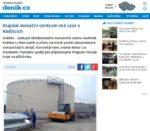 Článek - Krajské inovační centrum má vzor v Kněžicích