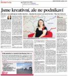 Článek - Jsme kreativní, ale ne podnikaví