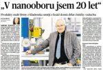 Článek - V nanooboru jsem 20 let