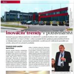 Článek - Inovační trendy v potravinářství